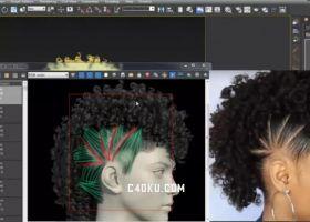 3D模型工程视频教程优秀作品素材下载包括-C4D库