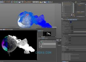 Thinkbox Krakatoa C4D v2.9.6 Cinema 4D插件粒子渲染器R19/R20/R21版
